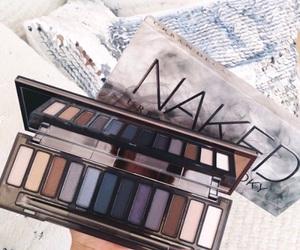 girl, makeup, and Nude image