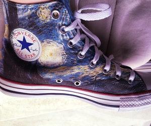art, converse, and light image