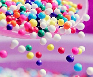 candy, colors, and pink image