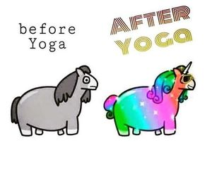 yoga, yogi, and namaste image