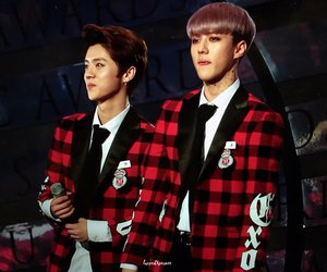 exo and hunhan image