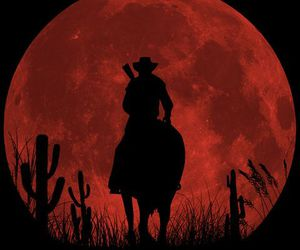 game, bg, and red dead redemption image