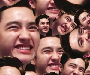 exo, kpop, and smile image