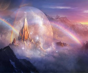 fantasy and landscape image