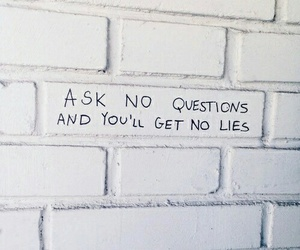 quotes, lies, and white image