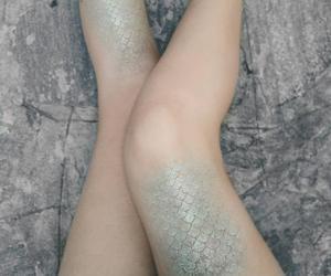 mermaid, legs, and sirena image