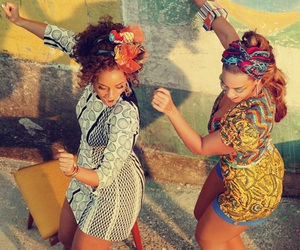 beyoncé, alicia keys, and dance image