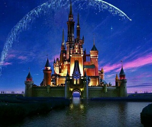 disney, wallpaper, and castle image