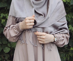 details, graduation, and hijab image