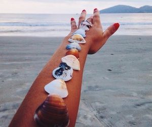 beach, summer, and goals image