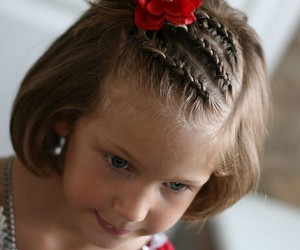 girls hairstyles, kids hairstyles, and diy hairstyles image