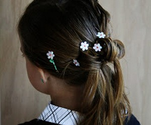 girls hairstyles, hairstyle ideas, and diy hairstyles image