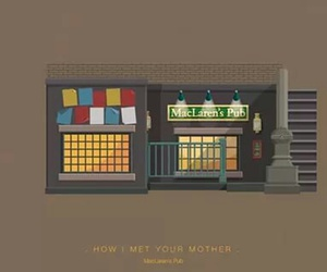 himym, how i met your mother, and pub image