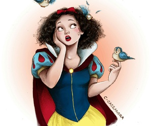 disney, snow white, and princess image
