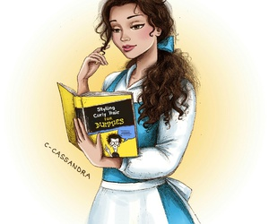 disney, belle, and c-cassandra image