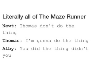 newt, thomas, and alby image