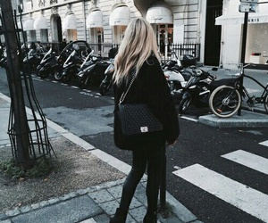black, blonde, and paris image