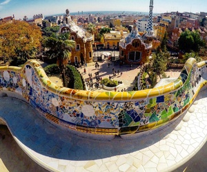 Barcelona, Gaudi, and travel image