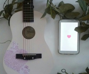 guitar, music, and we heart it image