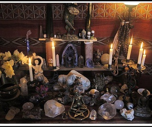 altar, witch, and witchcraft image