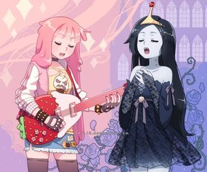 adventure time, marceline, and anime image