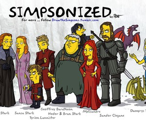 game of thrones and simpsons image