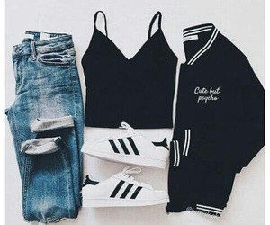 alternative, tumblr, and sporty outift image