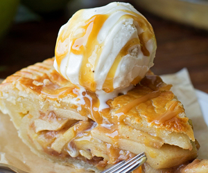 apple, desserts, and sweets image
