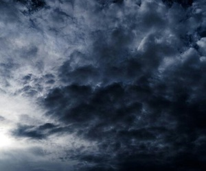 blue, dark, and clouds image