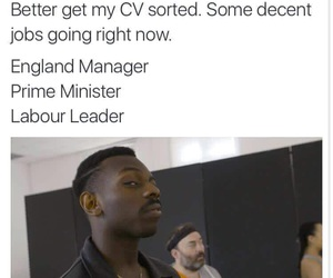 funny, jobs, and england image