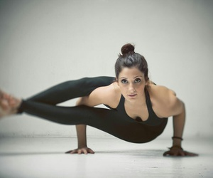 yoga, yogini, and yogainspiration image