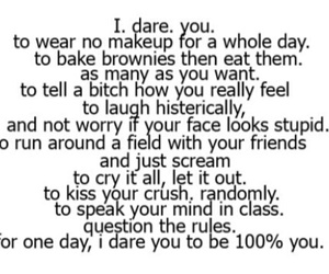 dare, quote, and you image