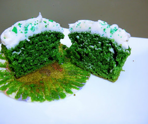 cake, clover, and st. patrick image