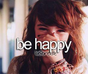 before i die, happy, and be happy image