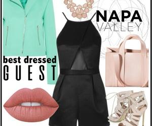 aqua, fashion, and lips image