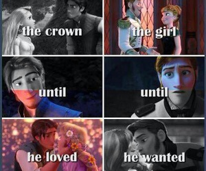 anna, crown, and disney image