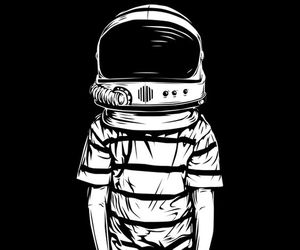 space, art, and black image