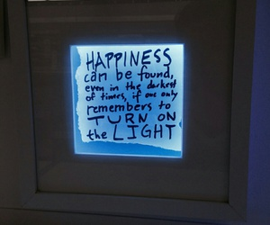 happiness, quotes, and light image