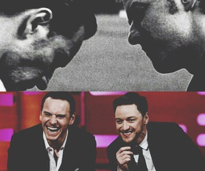 james mcavoy, michael fassbender, and xmen image