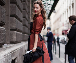 fashion, dress, and ulyana sergeenko image