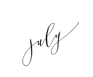 july, summer, and month image