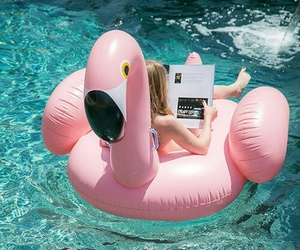 chic, pool, and relax image