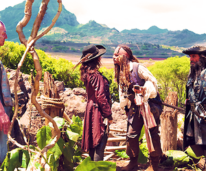 johnny depp, pirate, and pirates of the caribbean image