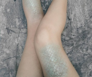 mermaid, fantasy, and legs image