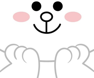 line, wallpaper, and cony image