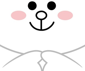 background, line, and cony image