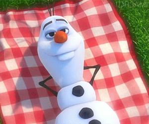 disney, snowman, and olaf image
