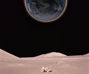 earth and moon image