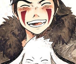anime, naruto, and akamaru image
