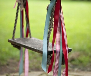 swing and ribbon image